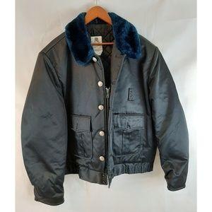 VINTAGE 70's Law Enforcement WARM Jacket 50L